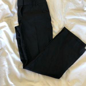 J. Crew Black Wool City Fit Trouser